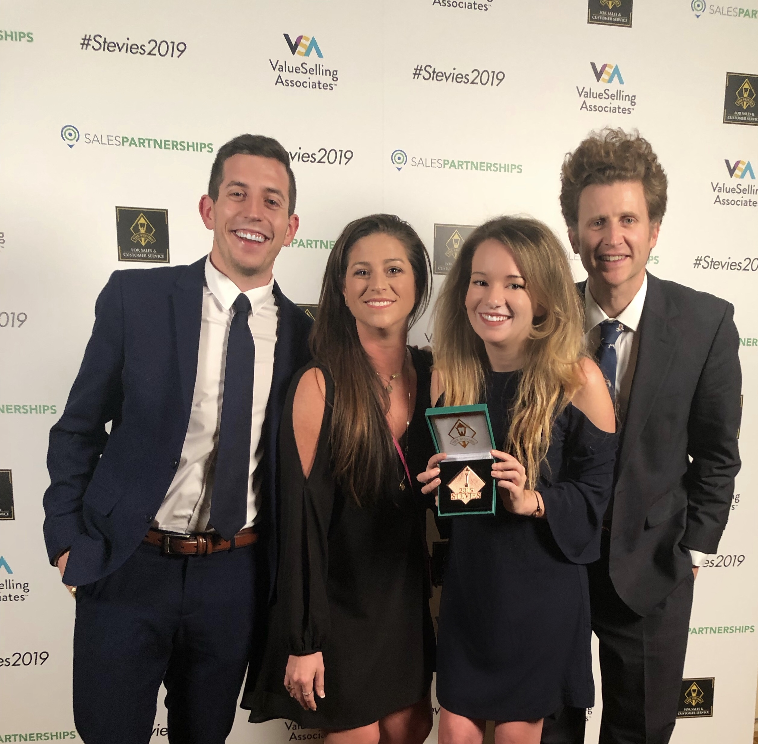 BerniePortal Wins 2019 Bronze Stevie Award for Sales & Customer Service